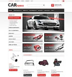 Cars ZenCart  Template 51242