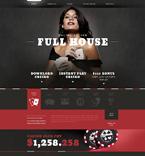 Casino Website  Template 51244