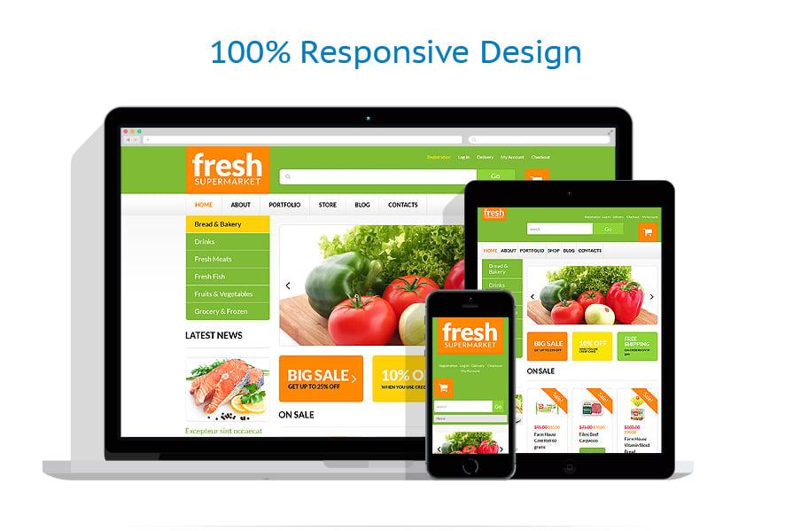 WooCommerce Themes Alimentation et Boissons #51254