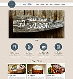 Cafe & Restaurant Flash CMS  Template 51262