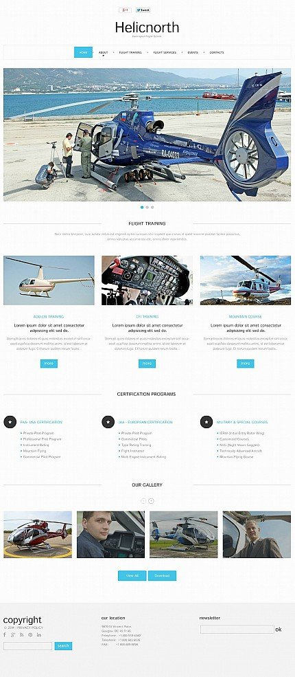ADOBE Photoshop Template 51265 Home Page Screenshot