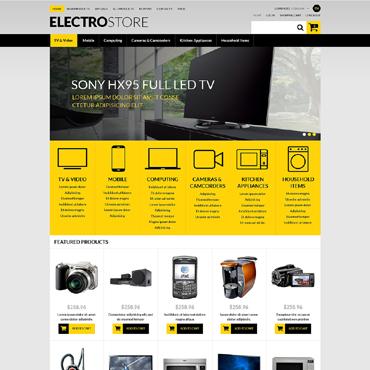 Купить  пофессиональные ZenCart шаблоны. Купить шаблон #51271 и создать сайт.