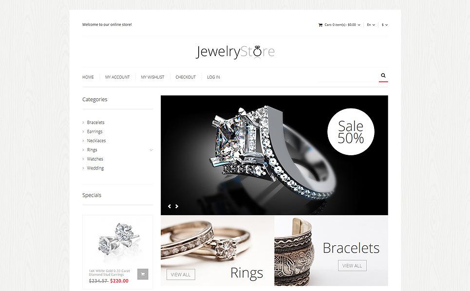 Responsive Mücevher  Magento Teması New Screenshots BIG