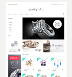 Jewelry Magento Template 51276