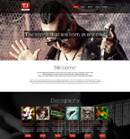Music Drupal  Template 51279