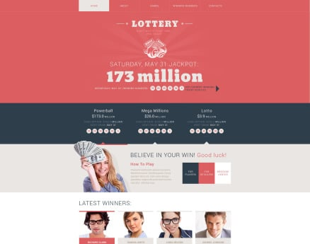 Most Popular Website Template