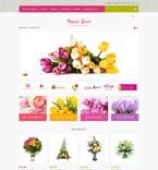 Flowers Magento Template 51290