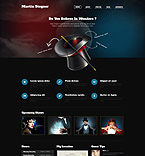Personal Page WordPress Template 51293