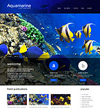 Animals & Pets WordPress Template 51296