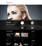 Jewelry WordPress Template 51298