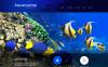 Адаптивный WordPress шаблон №51296 на тему рыба New Screenshots BIG