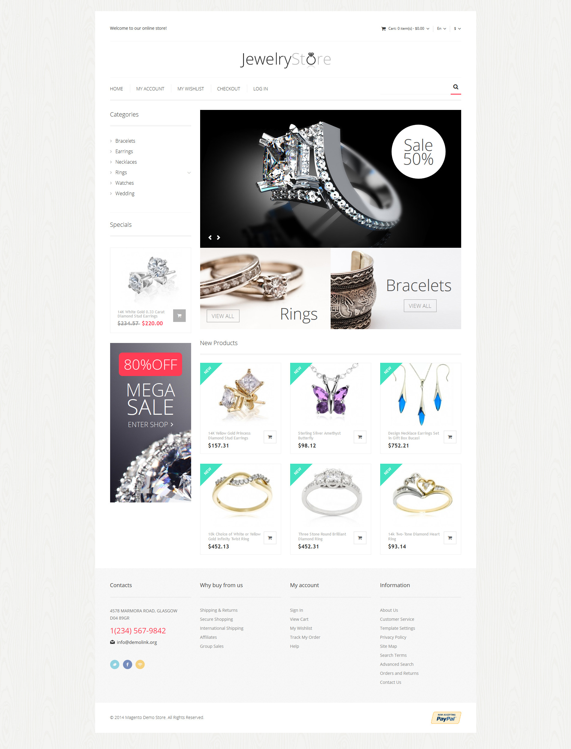 magento jewelry themes