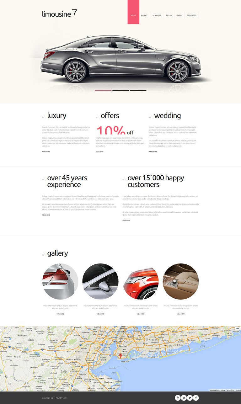 Limousine Service Joomla Template New Screenshots BIG