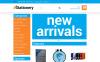 "OpenCart шаблон ""Stationery store"" New Screenshots BIG"