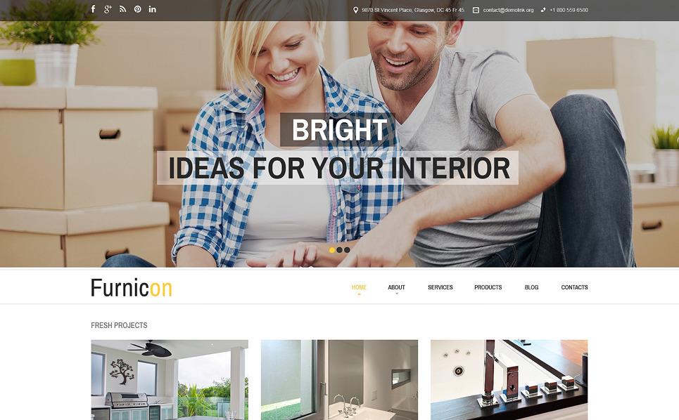Responsive Drupal Template over Interieur-design  New Screenshots BIG