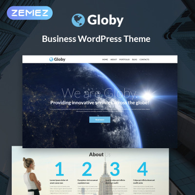 Responsive Your Business Wordpress Teması #51253
