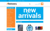 """Stationery store"" thème OpenCart adaptatif New Screenshots BIG"