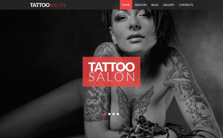 Tattooing Joomla Template