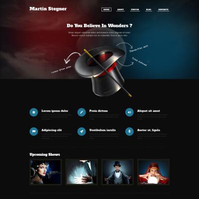 Tema de WordPress #51293 para Sitio de Magos