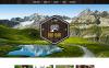 Template WordPress Responsive #51223 per Un Sito di Viaggi New Screenshots BIG