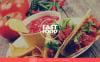 Thème Drupal adaptatif  pour restaurant de restauration rapide New Screenshots BIG