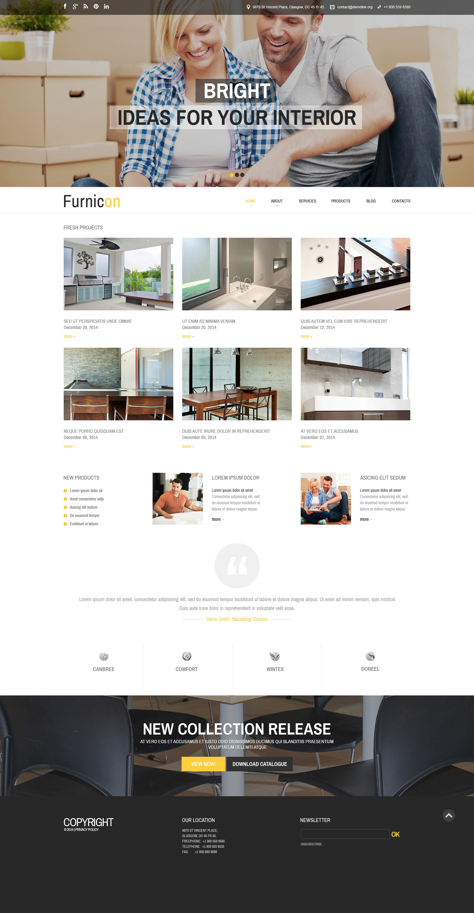 Th me drupal adaptatif 51236 pour site de design int rieur for Site de design interieur