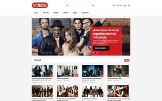 Video Stock Joomla Template