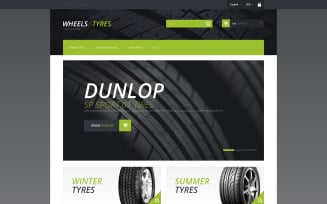 Wheels and Tyres PrestaShop Theme