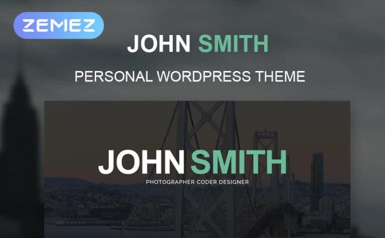 WordPress Theme #51241 für Persönliche Seiten