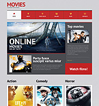 Entertainment WordPress Template 51300