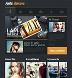 Personal Page WordPress Template 51302