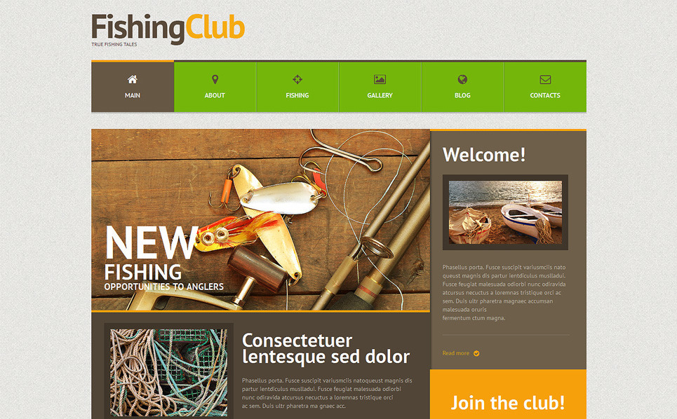 Responsive WordPress thema over Visserij  New Screenshots BIG