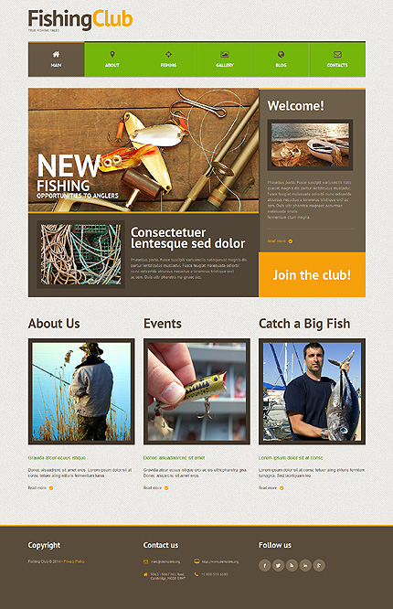 WordPress Theme/Template 51303 Main Page Screenshot