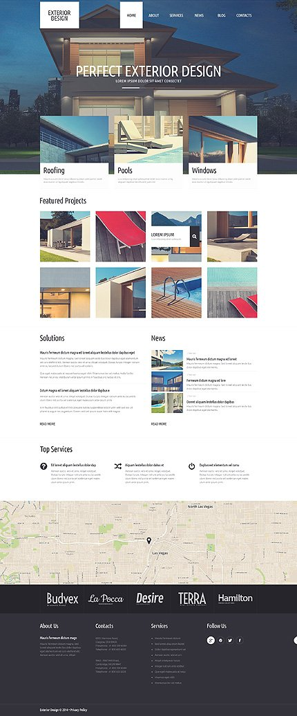 WordPress Theme/Template 51306 Main Page Screenshot