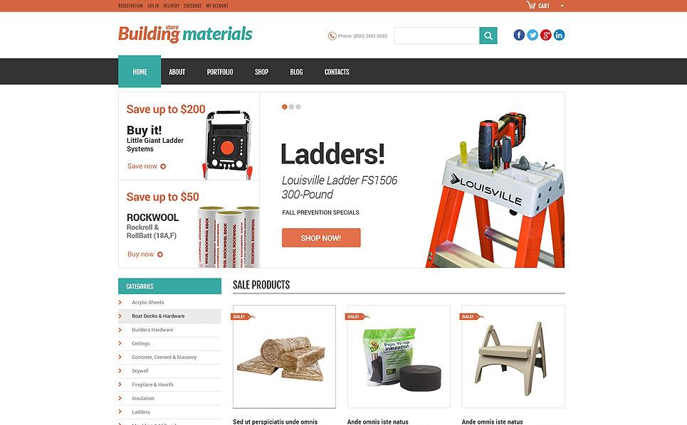 Reszponzív Karbantartási szolgáltatások WooCommerce sablon New Screenshots BIG