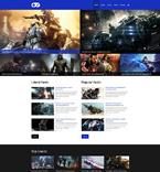 Games Website  Template 51312