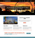 Entertainment Website  Template 51314