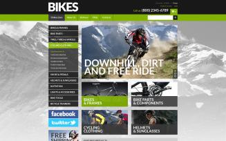 Bike Shop VirtueMart Template