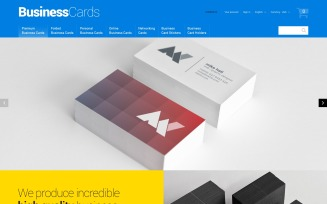 Business Cards PrestaShop Theme
