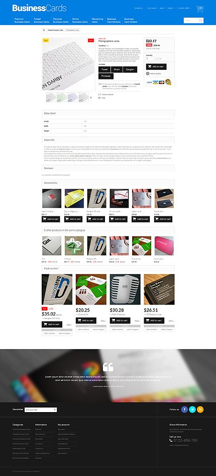 ADOBE Photoshop Template 51327 Home Page Screenshot