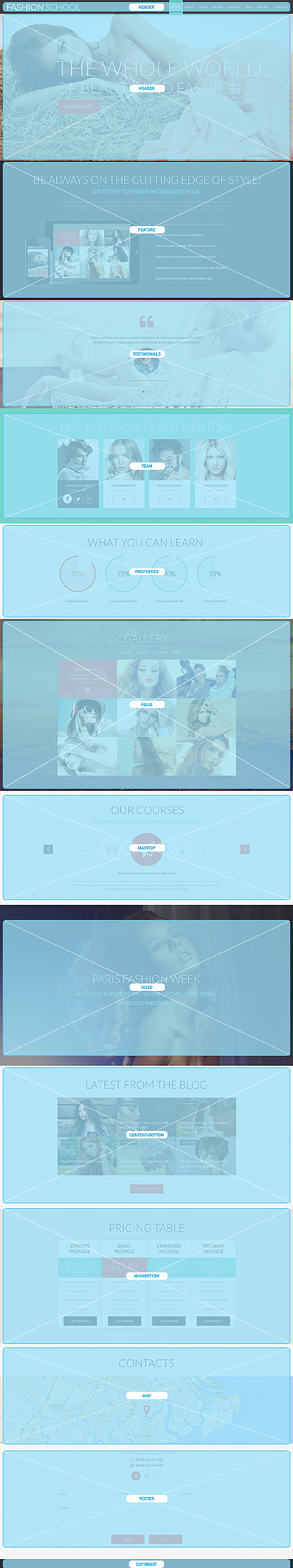 Joomla Theme/Template 51328 Main Page Screenshot