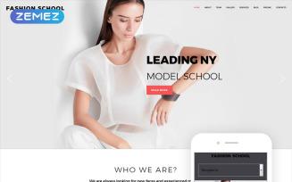 Fashion School - Model Agency Responsive Modern Joomla Template