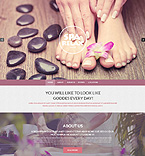 Beauty Drupal  Template 51329
