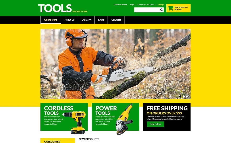 Szablon VirtueMart #51330 na temat: narzędzia i urządzenia New Screenshots BIG