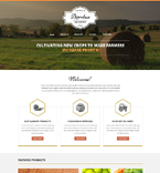 Agriculture Website  Template 51341