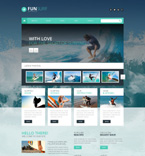Sport WordPress Template 51346