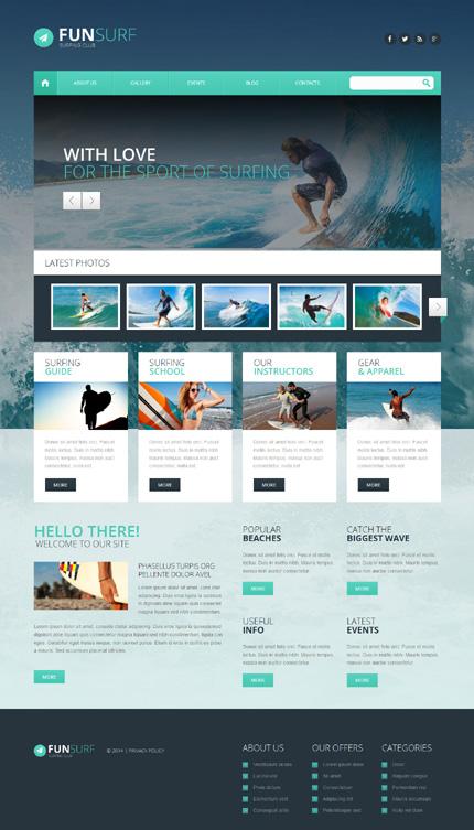 WordPress Theme/Template 51346 Main Page Screenshot