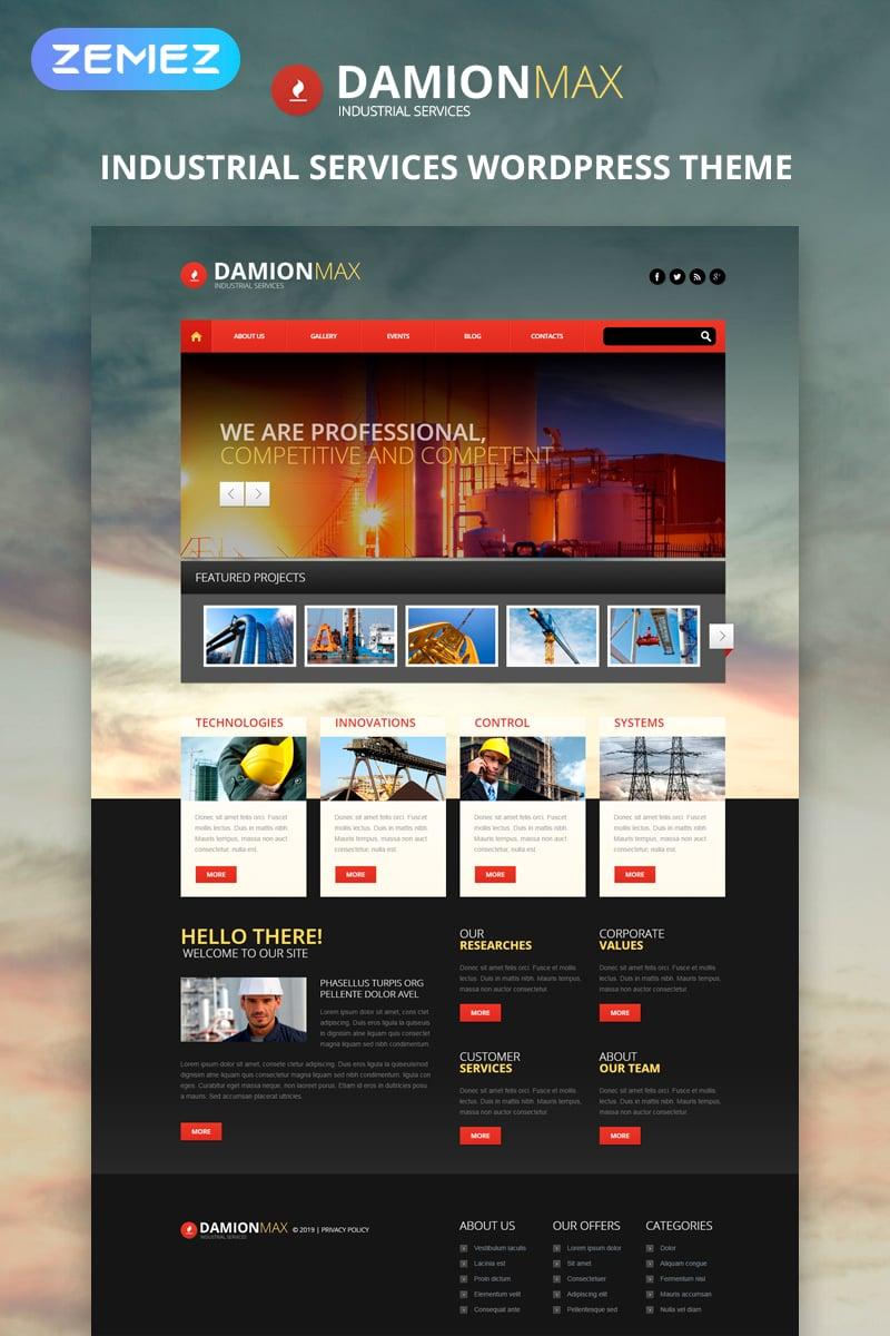 Industrial Web Templates | Industrial Website Templates