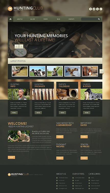 WordPress Theme/Template 51348 Main Page Screenshot