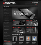 Computers ZenCart  Template 51350